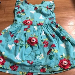 Really cute flowered sundress size xs by gap